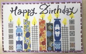 6月生まれの、お友達の お誕生日を、 皆で 楽器を鳴らしたり、 歌を歌ったりして、お祝いしました。